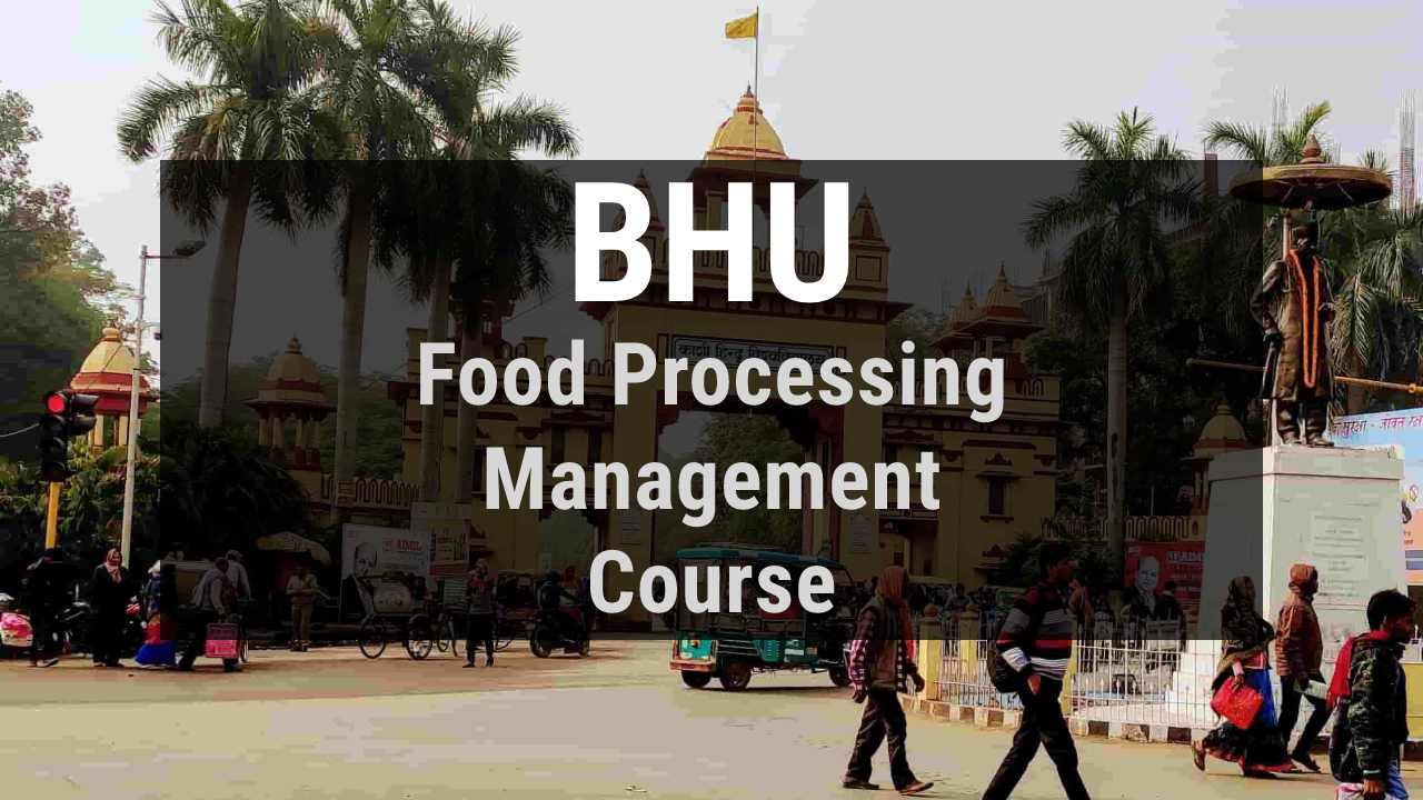 You are currently viewing BHU B.Voc  in Food Processing and Management, Admission, Course Fee