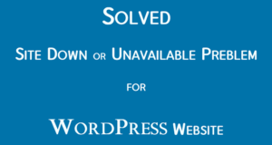 Read more about the article WordPress | AdSense Site Down or Unavailable Problem Solved